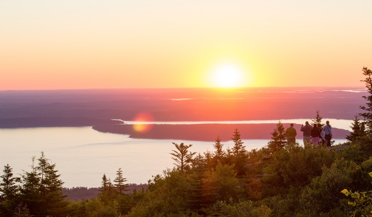 best mountain views in maine | Tentrr